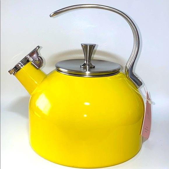 Kate Spade Tea Kettle - Yellow